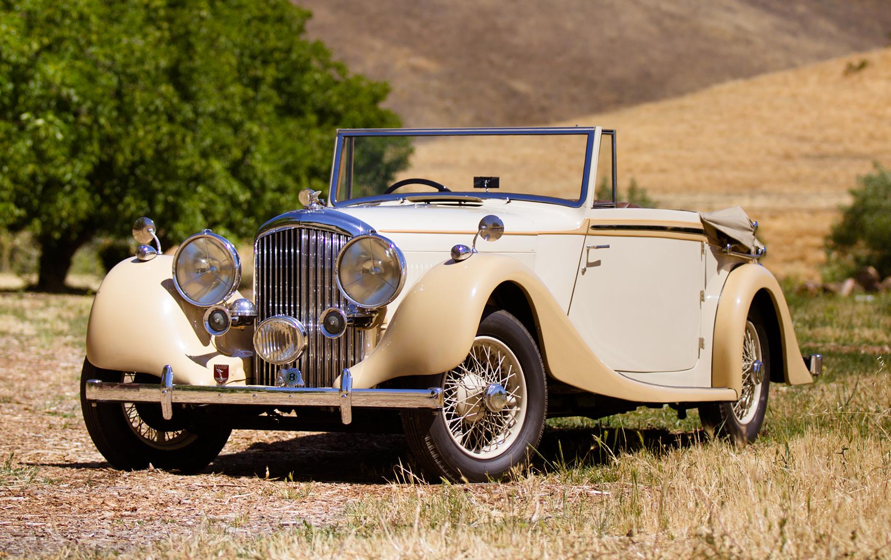 1938 Bentley 4 1/4 Litre Drop Head Coupe