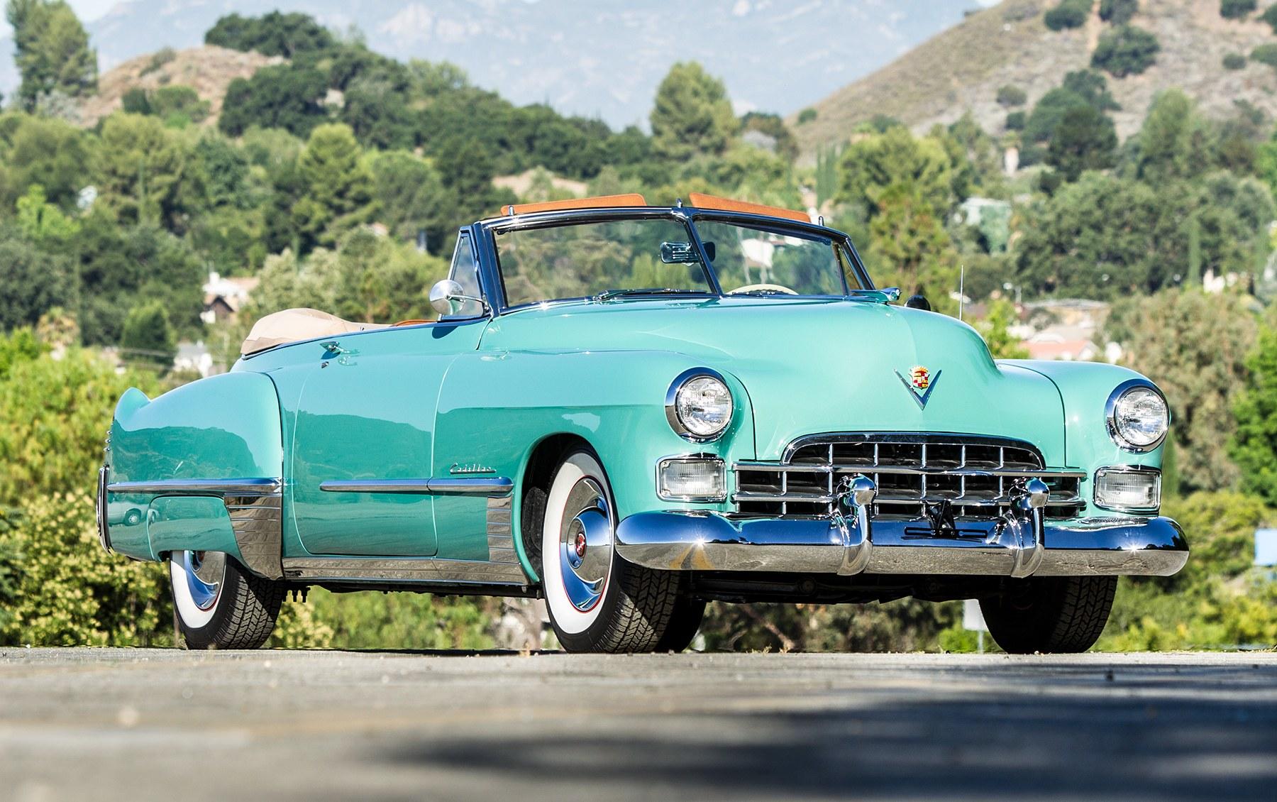 1948 Cadillac Series 62 Convertible Coupe-2