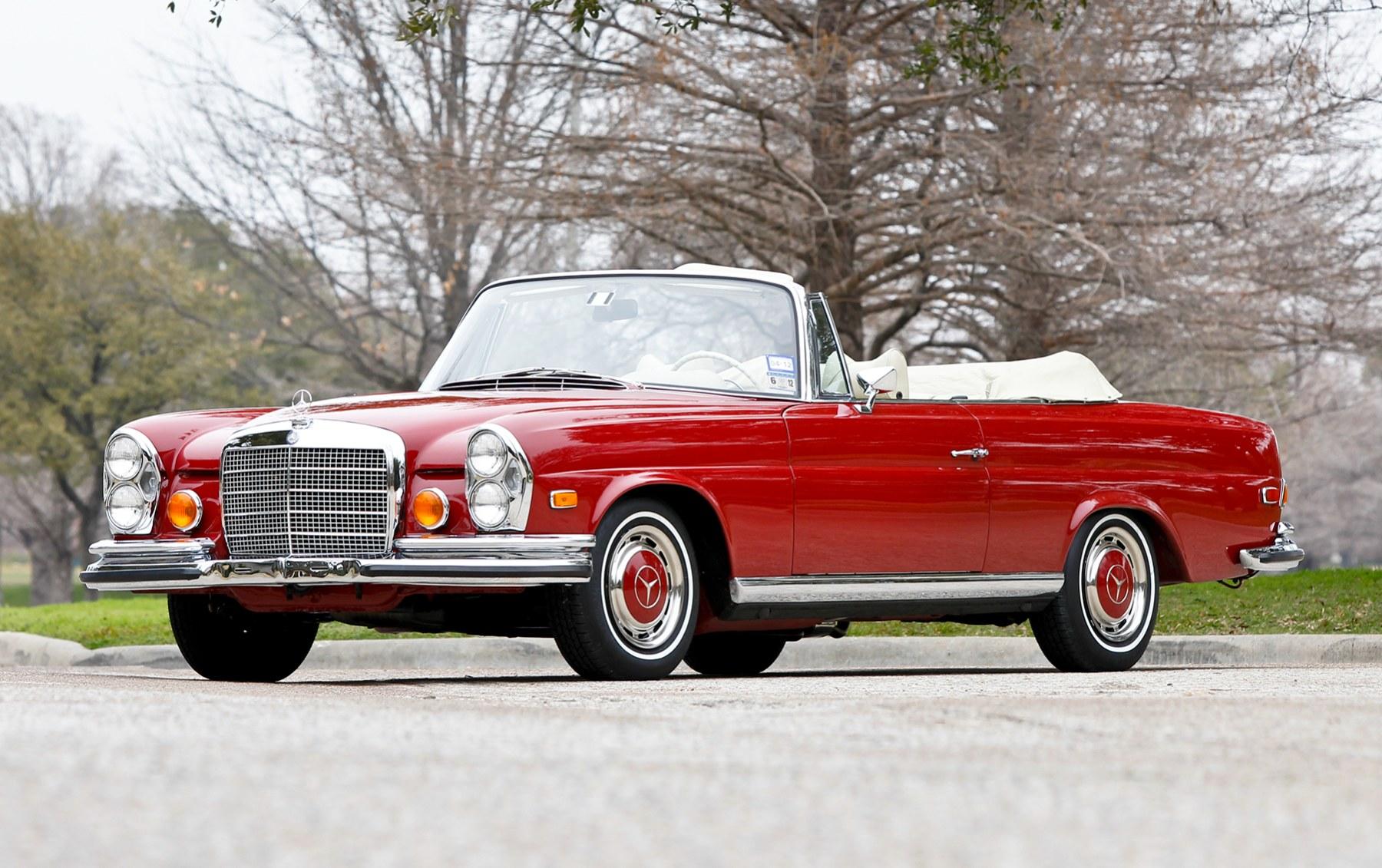 1971 Mercedes-Benz 280 SE 3.5 Cabriolet(3)
