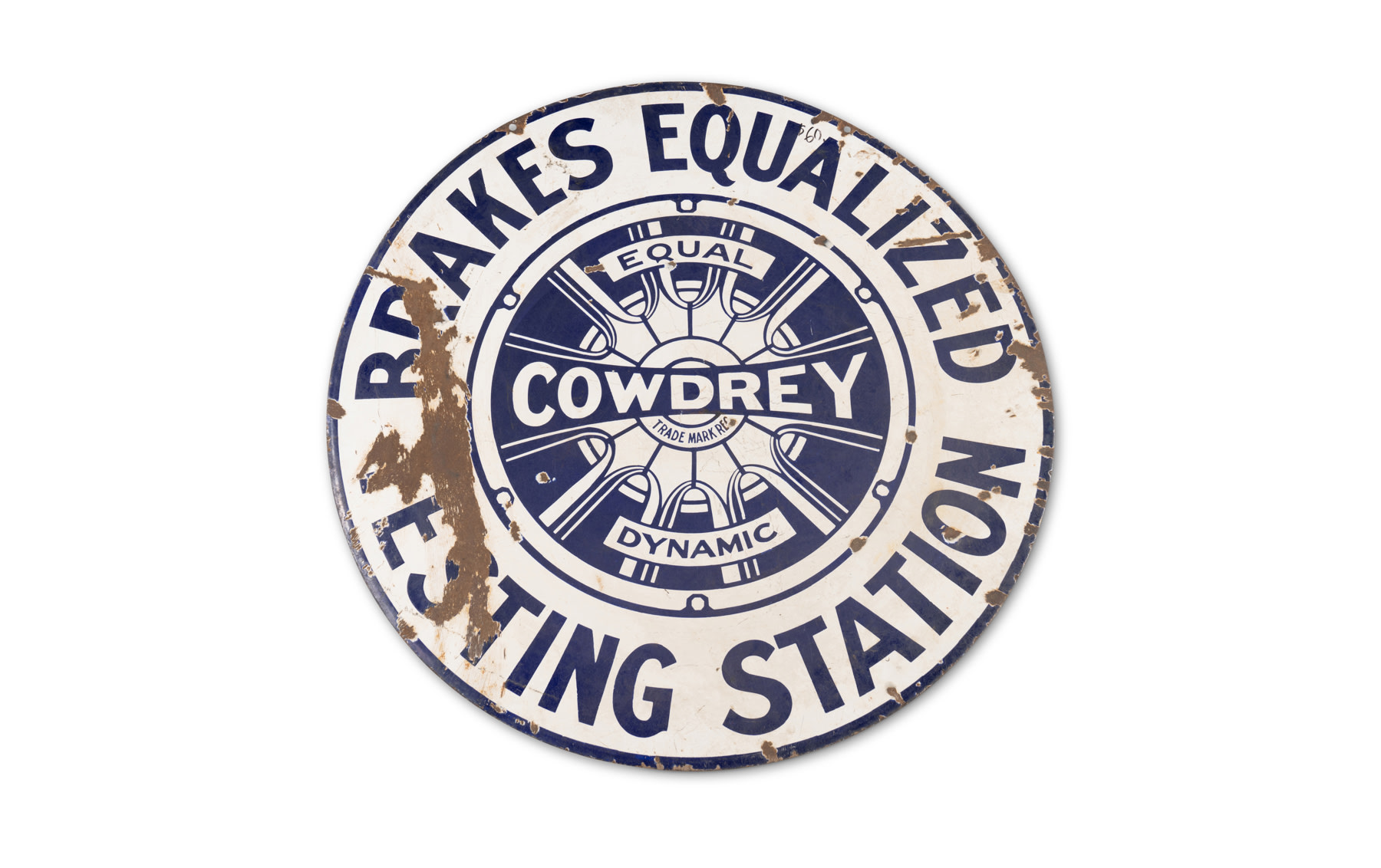 Cowdrey Testing Station Sign