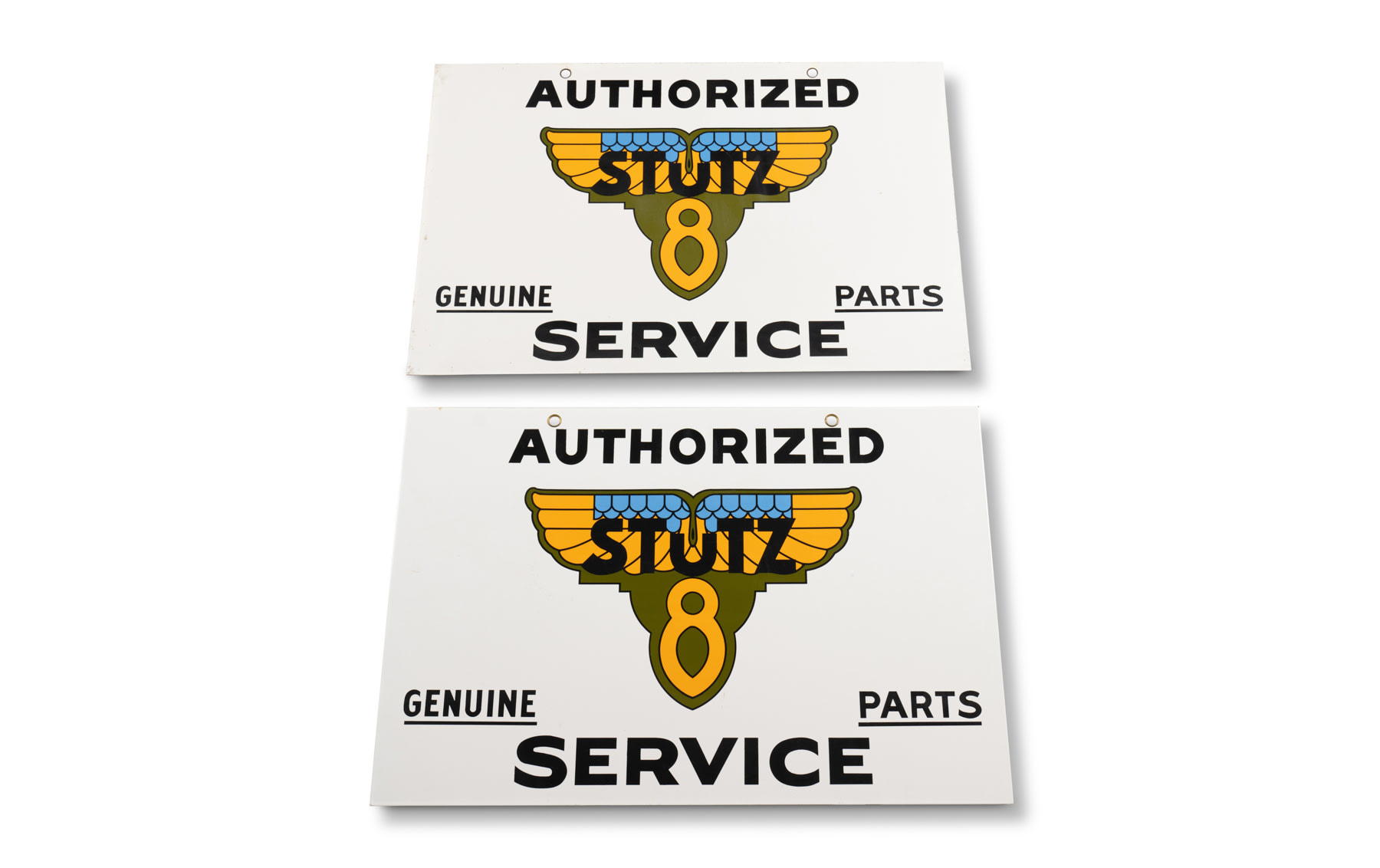 Stutz Authorized Service Signs