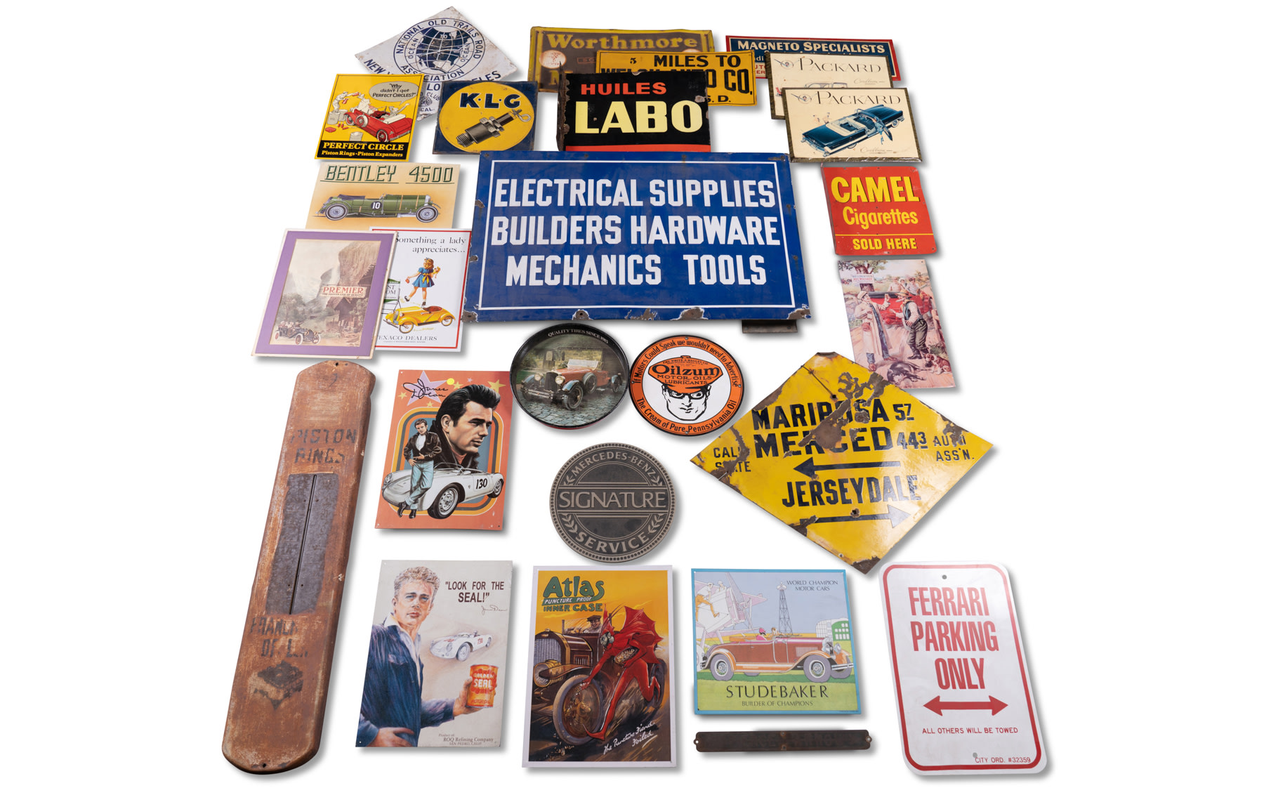Assorted Automotive Signs