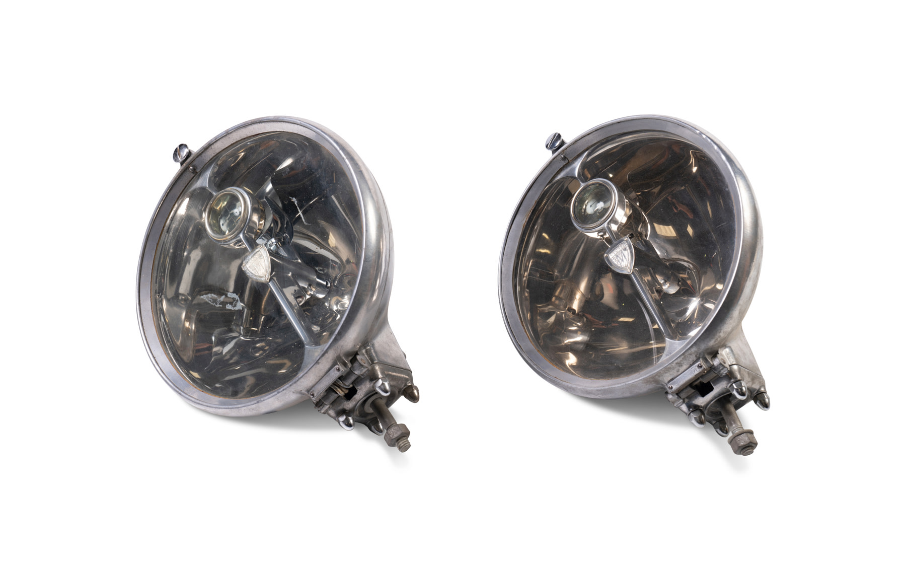 A Pair of Marchal Headlamps