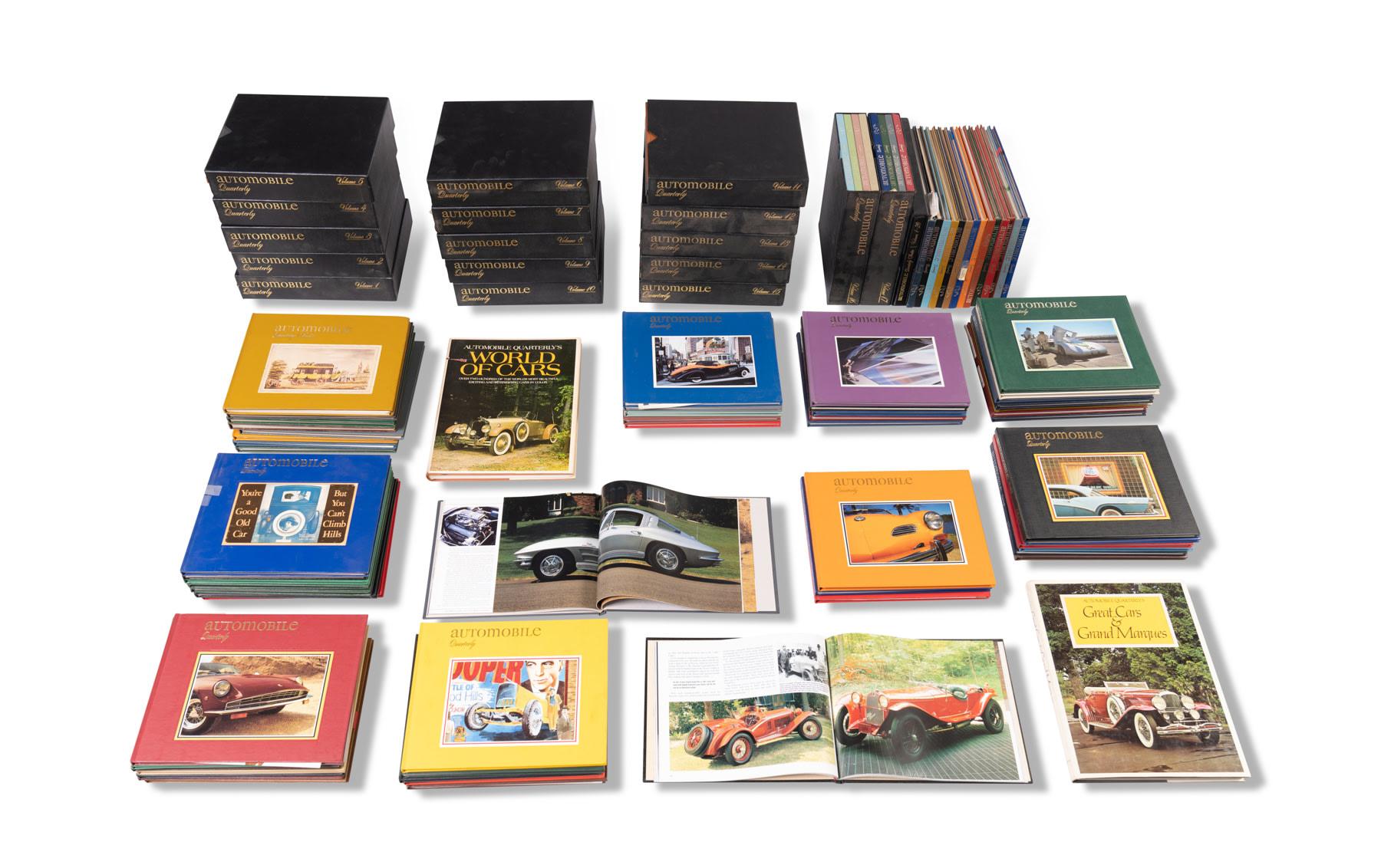 Assorted Automobile Quarterly Publications