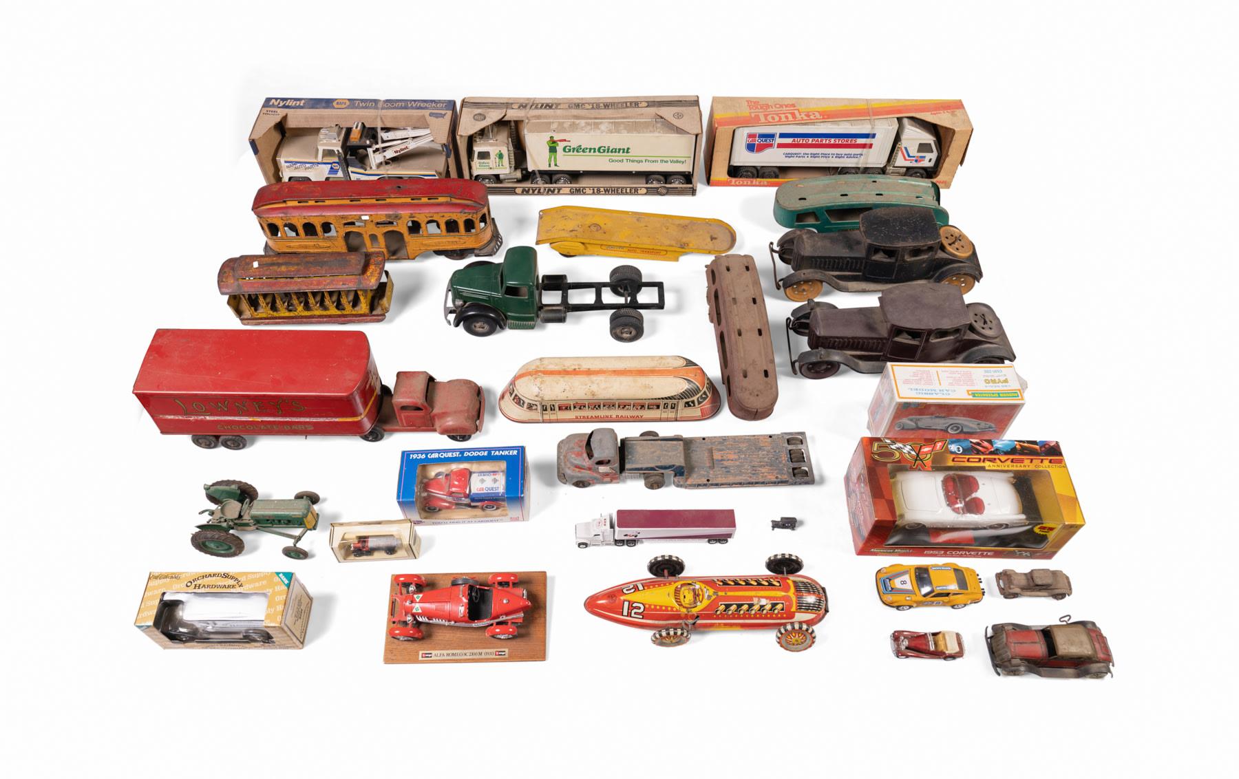 Assorted Automotive Toys