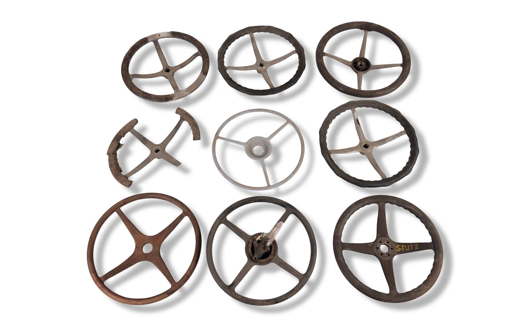 Assorted Automotive Steering Wheels