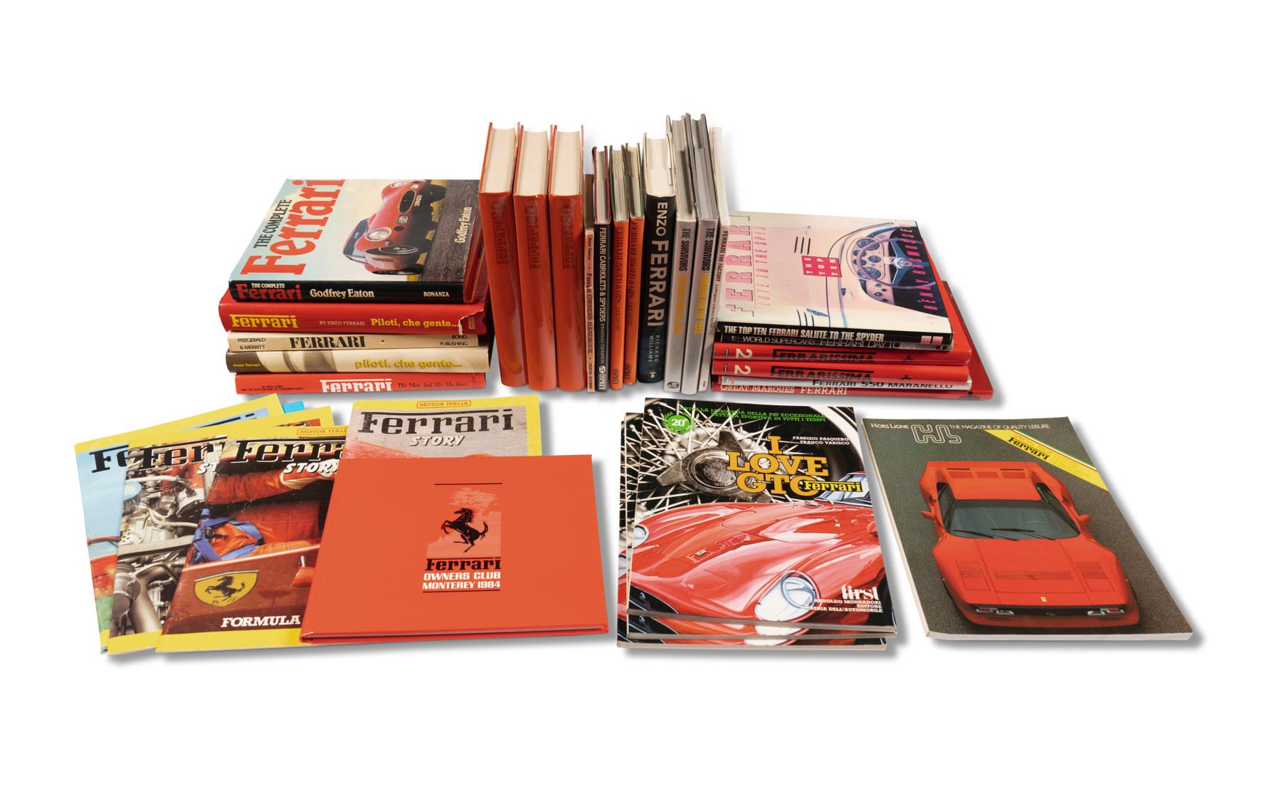 Assorted Ferrari Books