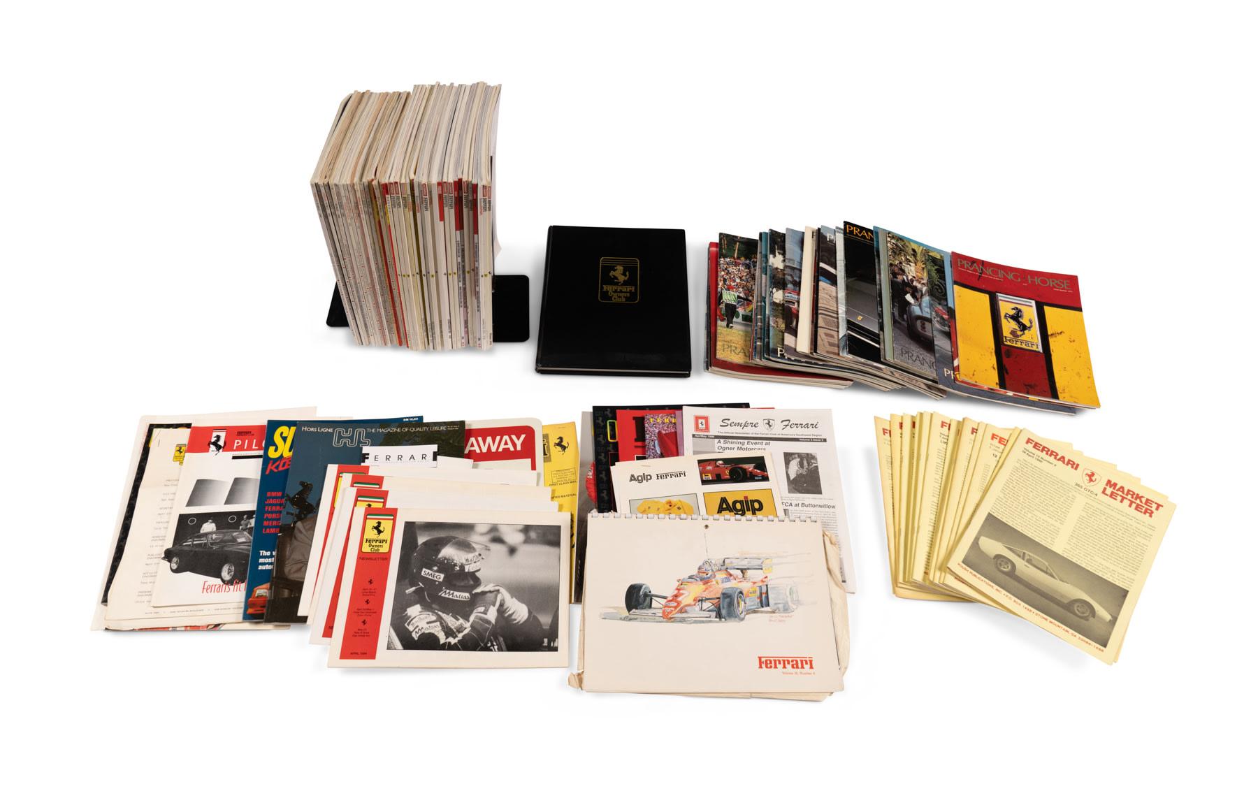 Ferrari Club Publications