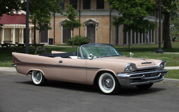 1958 DeSoto Firesweep Convertible