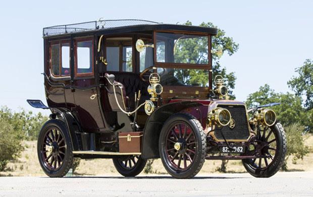 1907 Panhard Et Levassor Model U2 Transformable Seven-Passenger Town Car
