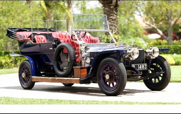 1908 Rolls-Royce 40/50 HP Silver Ghost Roi Des Belges Tourer