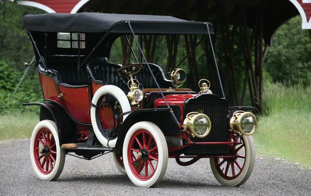 1908 White Model L Touring Car
