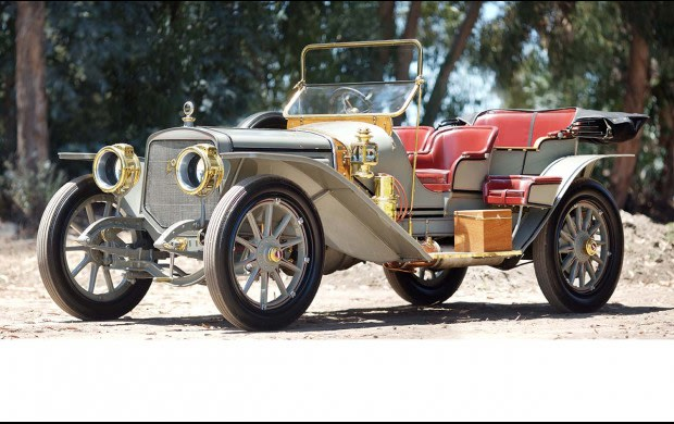 1909 Lozier Type H Briarcliff Four-Passenger Touring