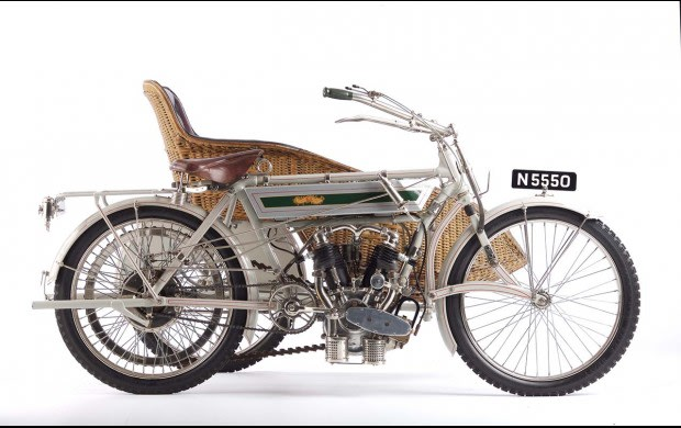 1909 Vindec Special Motorcycle With Sidecar