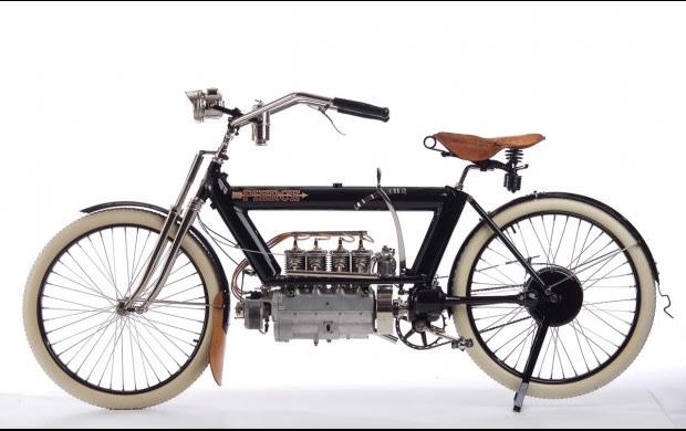 1910 Pierce 696 CC Four