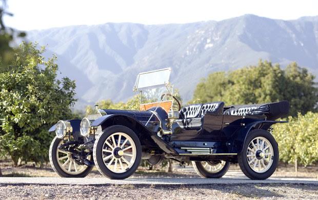 1910 Pierce-Arrow Model 48 SS Demi-Tonneau