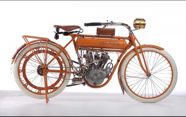 1911 Flying Merkel Model 50 Cubic Inch Twin