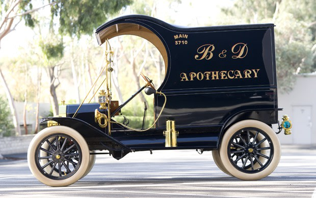 1912 Ford Model T C-Cab Delivery Truck