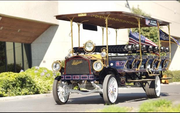 1912 Packard ATD 3-Ton Sightseeing Bus