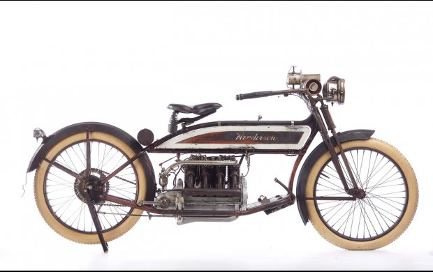 1913 Henderson 58 Cubic-Inch Four