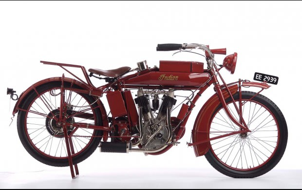 1914 Indian Hendee Special, V-Twin Export Model