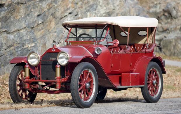 1915 Stutz Model 4-F Bulldog Demi-Tonneau