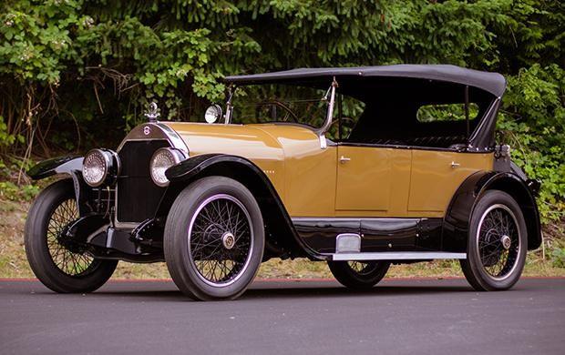 1921 Stutz Model K Bulldog 4-Passenger Tourer