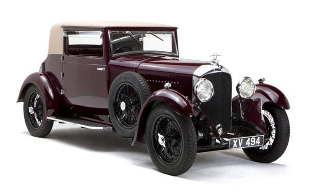 1928 Bentley 4 1/2 Litre British Flexible Coupe-2