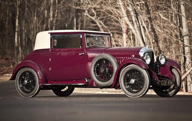 1928 Bentley 4 1/2 Litre British Flexible Coupe
