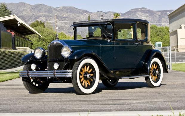 1928 Buick Master Six Model 48 Opera Coupe