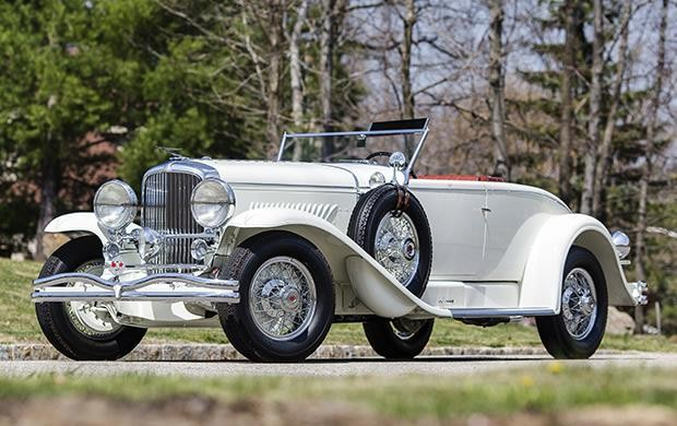 1929 Duesenberg Model J Disappearing-Top Convertible Coupe