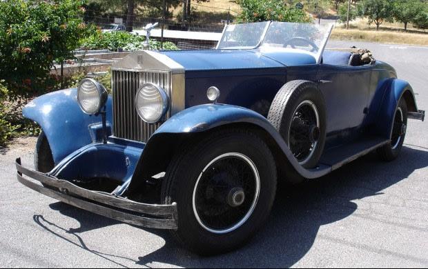 1929 Rolls-Royce Springfield Phantom I Henley Convertible Coupe