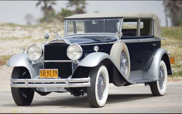 1930 Packard 745 Deluxe Eight Convertible Sedan