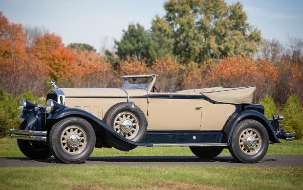 1930 Pierce-Arrow Model B Convertible Victoria