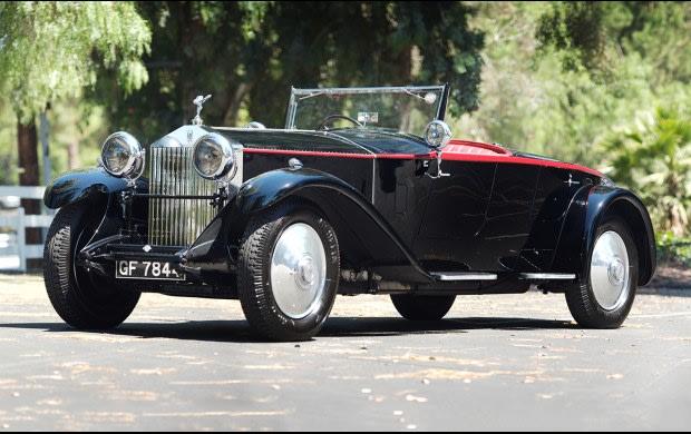 1930 Rolls-Royce Phantom II Boattail Tourer