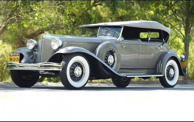 1931 Chrysler CG Custom Imperial Dual Cowl Phaeton And Imperial Sedan