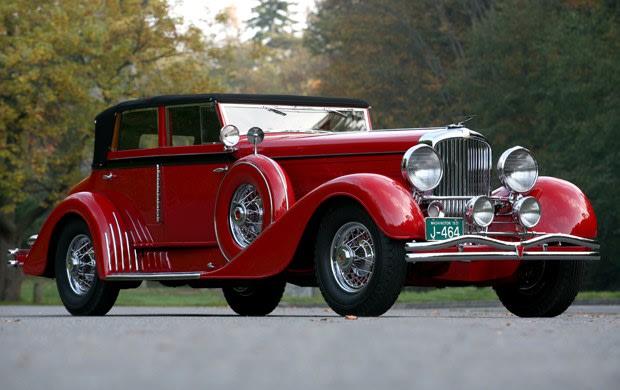1931 Duesenberg Model J Convertible Sedan (1)