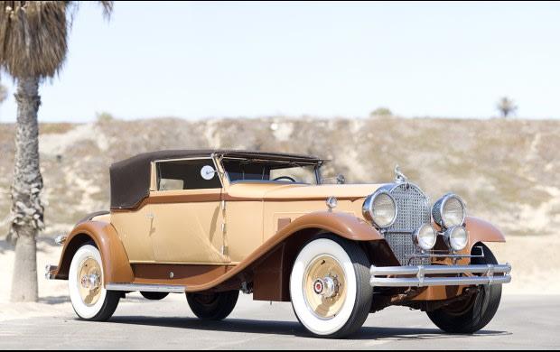 1931 Packard 840 Convertible Victoria