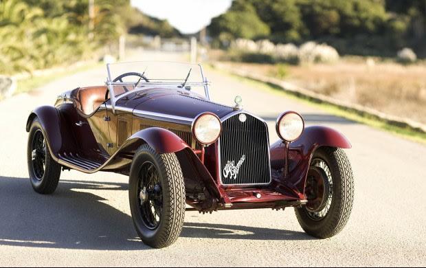 1932 Alfa Romeo 6C 1750 Gran Sport Spider
