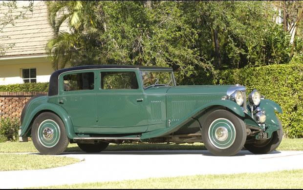 1932 Bentley 8-Liter Sport Saloon