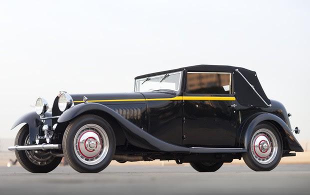 1932 Bugatti Type 50 Drop Head Coupe