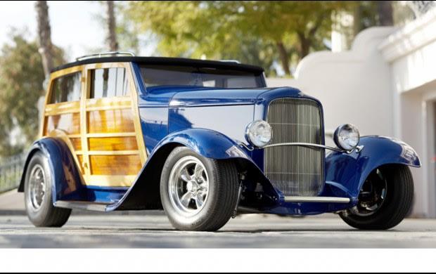 1932 Ford Speedwagon Phantom Deuce Woody