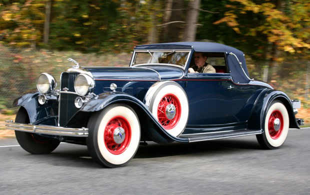 1932 Lincoln KB Convertible Roadster