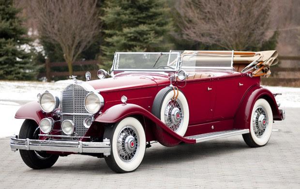 1932 Packard Ninth Series Deluxe Eight Sport Phaeton