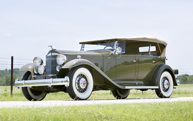 1932 Packard Twin Six Model 905 Sport Phaeton