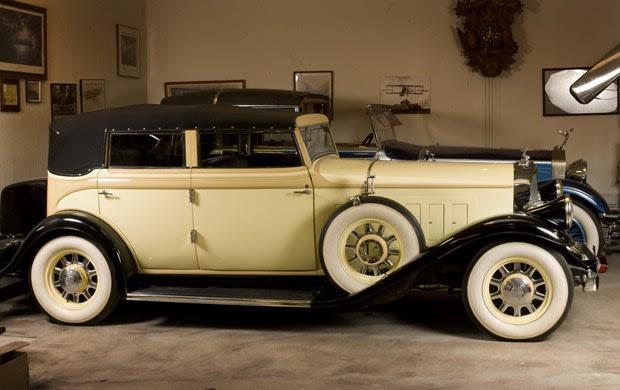 1932 Pierce-Arrow Model 54 Convertible Sedan