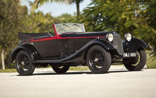 1933 Alfa Romeo 6C 1750 Gran Sport Drop Head Coupe