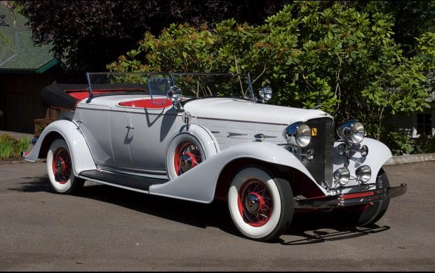 1933 Cadillac V-8 355 C Dual Cowl Phaeton