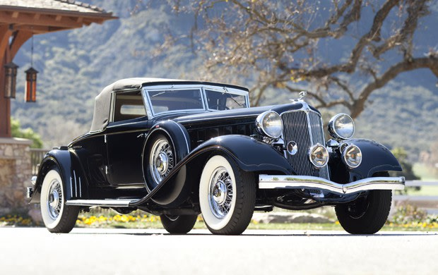 1933 Chrysler Custom Imperial CL Convertible Coupe