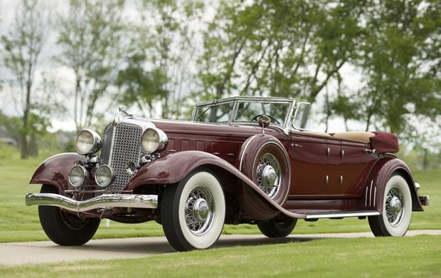 1933 Chrysler Custom Imperial Series CL Dual Windshield Phaeton